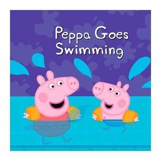 Cuadro Focu Deco Lienzo Canvas 20x20 - Peppa Pig - Pool