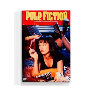 Cuadro Focu Deco Lienzo Canvas 20x30 Pulp Fiction