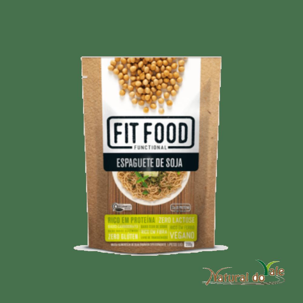 Macarrão Espaguete de Soja 200g Fit Food - Vegano Sem Glúten
