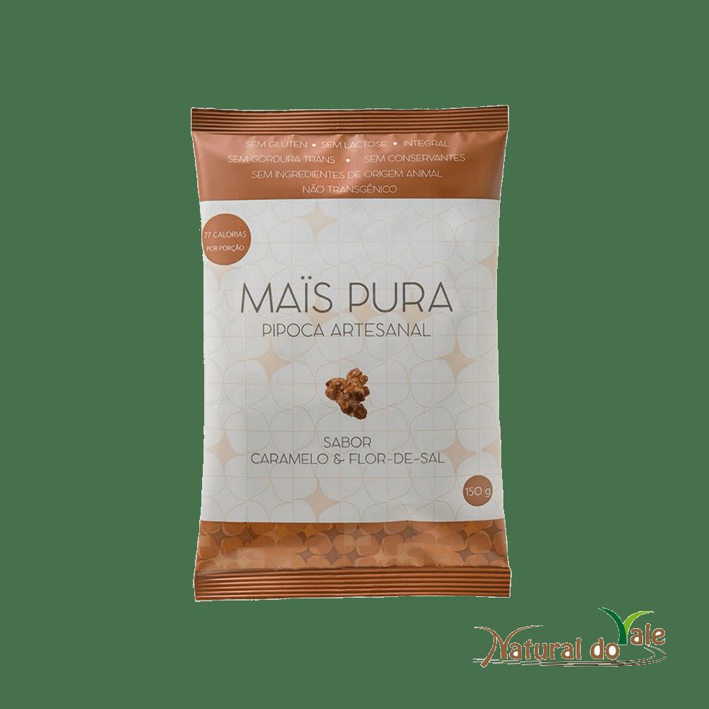 Pipoca Artesanal Mais Pura Caramelo com Flor de Sal 150g