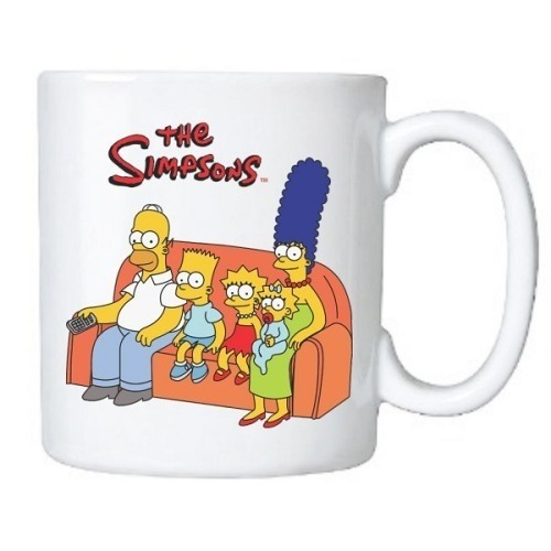 Caneca Personalizada The Simpsons