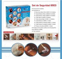 Set De Seguridad Bebe X24 Love 8903 Esquinero Traba Enchufe en internet