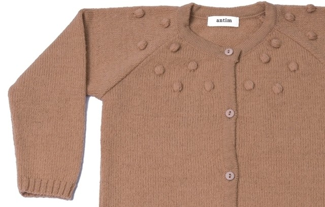 SWEATER TEA - BEIGE - antim knitwear