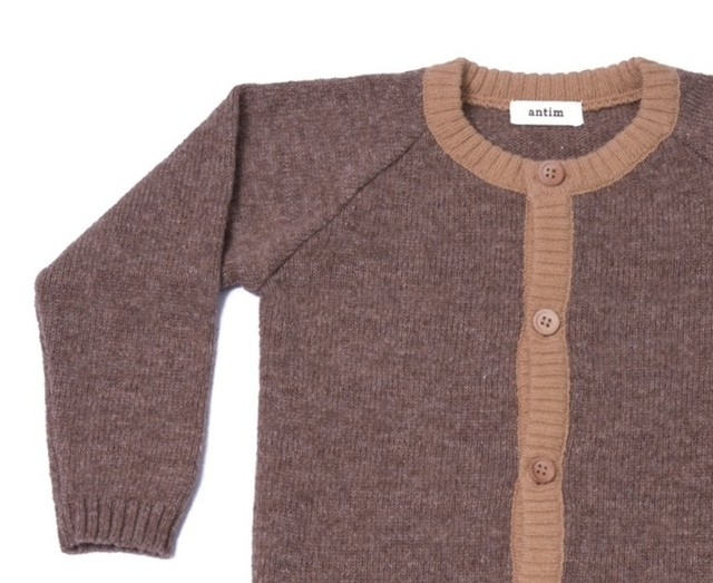 SWEATER OMA - CARAMEL - antim knitwear