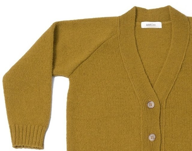 SWEATER OPA - OCRE - antim knitwear
