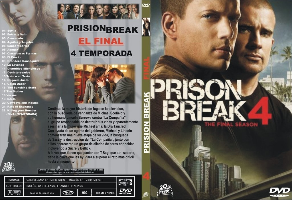 Prision Break 4ª Temporada - GraceTV Bazar Digital