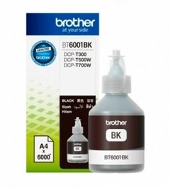 Botella Tinta Negra BROTHER - BT6001BK