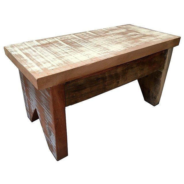 Adesivo De Geladeira ~ banquinho de madeira de demoliç u00e3o