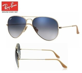 ray ban lente azul degrade 3025