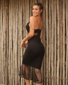 Vestido Marcela Black en internet