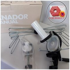 Devanador Manual Ovillador Y Madejero + Telar SUPERFLOR de regalo