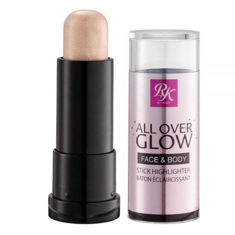 RK Kiss New York All Over Glow Face & Body Stick Highlighter 11g - Halo Glow
