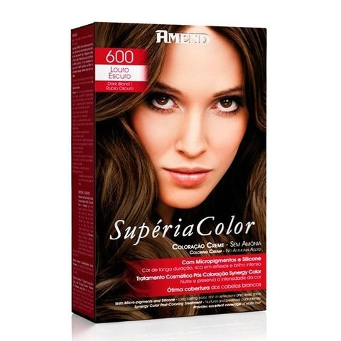 Kit Tonalizante Supéria Color Amend 600 Louro Escuro