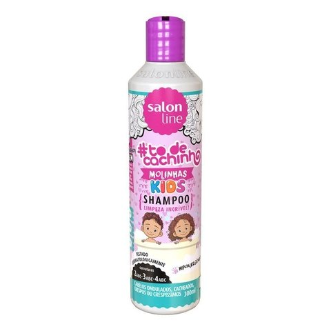 Shampoo Salon Line Kids To De Cachinho Molinhas 300ml