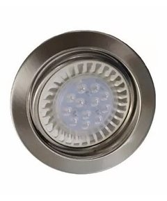Spot Embutir Ar111 Acero Platil Lampara Led 12w Dimerizable