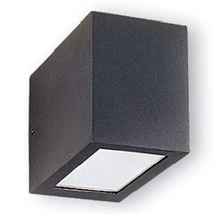 Aplique Bidireccional Exterior Con Lampara Led 10w = 80w