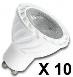 Pack X 10 Lampara Dicroica Led 4w Gu10 220v