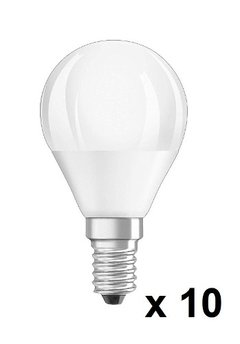 Pack X 10 Lampara Gota Led 5w E14 Calido / Frio