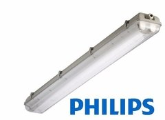Plafon Estanco Philips Hermetico 2x16w Con 2 Tubos Led 120cm