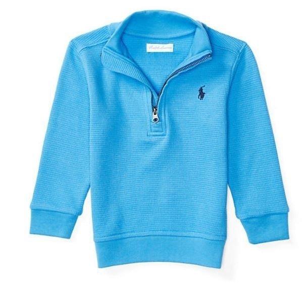 Blusa de algodão com zíper - Ralph Lauren fcda0544eef