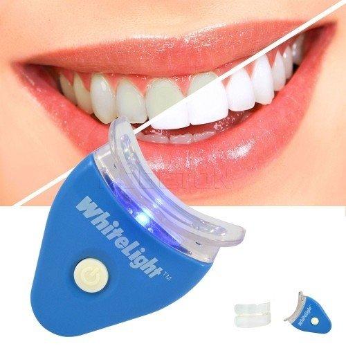 Kit Gel Clareador De Dental Creme Dental Luz Branca