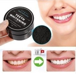 Clareamento Dental Po De Limpeza 100 Natural Carvao Vegetal