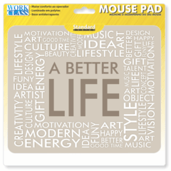 1157-Mouse Pad Better Life - comprar online