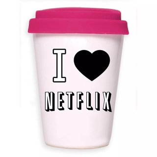 TAKE AWAY CUP I LOVE NETFLIX - La sarten por el mango