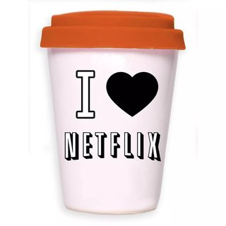 TAKE AWAY CUP I LOVE NETFLIX - tienda online