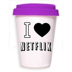 TAKE AWAY CUP I LOVE NETFLIX