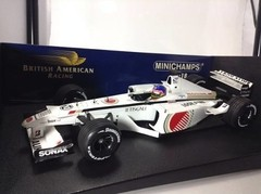 Imagem do F1 BAR Honda Jacques Villeneuve (Showcar 2001) - Minichamps 1/18