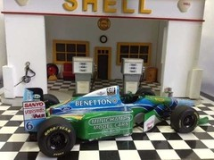 F1 Benetton B194 J. Verstappen - Minichamps 1/18 - B Collection