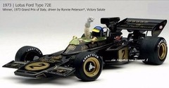 Imagem do F1 Lotus 72D Ronnie Peterson - Exoto 1/18