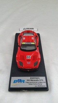 Ferrari 550 Maranello GTS - BBR 1/43 - B Collection