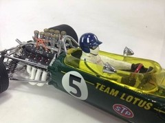 F1 Lotus Type 49B Graham Hill - Exoto 1/18 - loja online