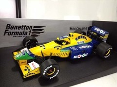 Imagem do Benetton B191 Michael Schumacher Minichamps 1/18