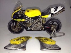 Ducati 998RS P. Chili - Minichamps 1/12 Customizada. - loja online