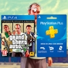 Grand Theft Auto V + Playstation Plus 3 Meses