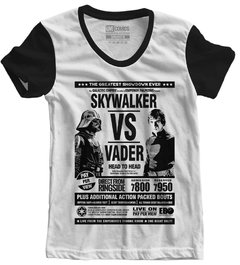 Camiseta Baby Look Skywalker vs Vader Star Wars - comprar online