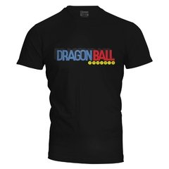 Camiseta masculina Dragon Ball logo na internet