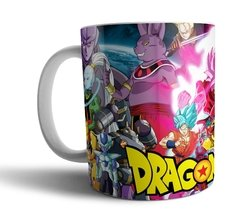 Caneca de porcelana branca Dragon Ball Super 006