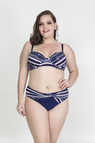Conjunto Plus Size Acqua Rosa - Nautics