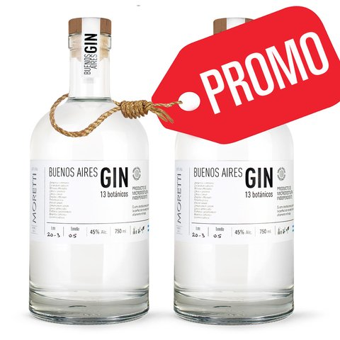 2 x $1399 -> Buenos Aires GIN