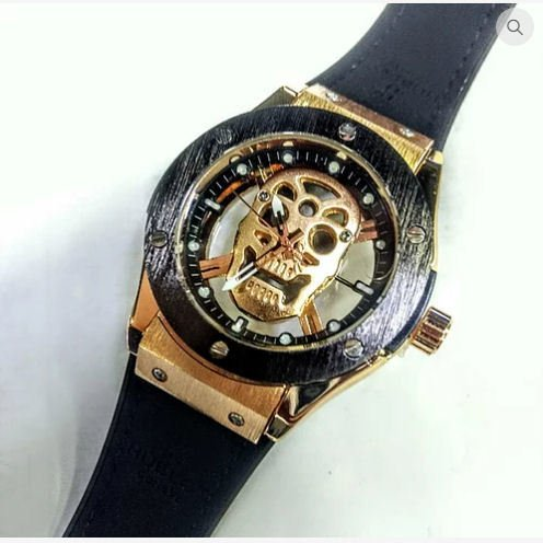 b9437e551a3 Relógio Hublot Caveira