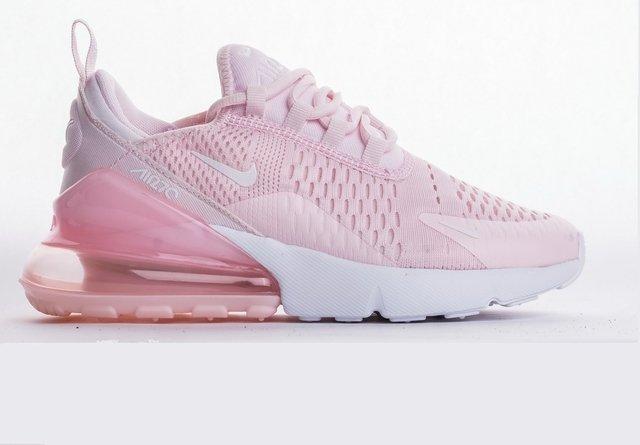 air max 270 branco com rosa
