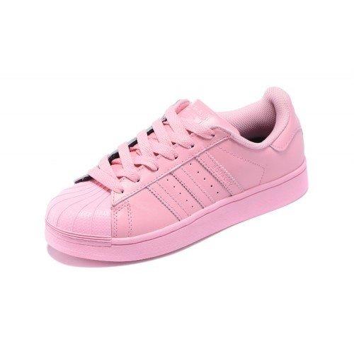 adidas superstar rosa dourado