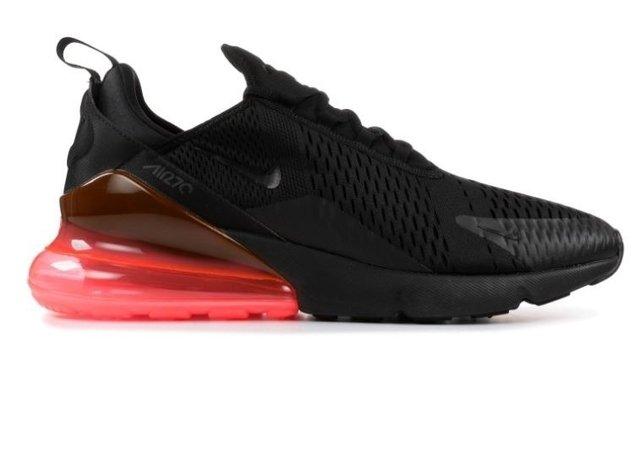 half off 4714c 1fa21 Tênis Nike Air Max 270 Black Hot Punch (Masculino)