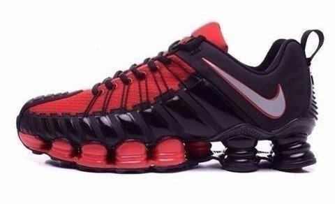 Tênis Nike Total Shox Preto C Vermelho (Masculino) 55106d7b81fdf