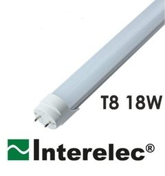 Tubo LED 18w 1,20 Mts Luz Fría Interelec