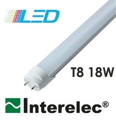 Tubo Led 18w 1,20 Mts Luz Fría Interelec 1600 Lum